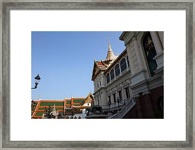 Temple Of The Emerald Buddha - Grand Palace In Bangkok Thailand - 011317 Framed Print by DC Photographer