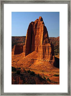 Temple Of The Moon, Lower Cathedral Framed Print by Michel Hersen