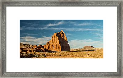 Temple Of The Sun Formation, Cathedral Framed Print by Panoramic Images