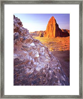 Temple Of The Sun Framed Print by Ray Mathis