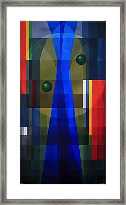 Temple's Veil Framed Print by Alberto D-Assumpcao