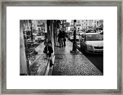Temptations Framed Print by Pace Freeman