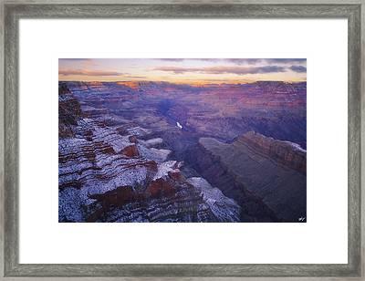 Ten Below Framed Print by Peter Coskun