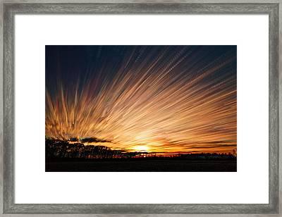 Ten Thousand Paths Framed Print by Matt Molloy