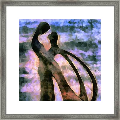 Tender Are The Words They Choose Framed Print by Angelina Vick