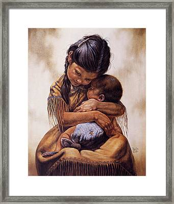 Tender Love Framed Print by Gregory Perillo