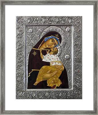 Tenderness Framed Print by Mary jane Miller
