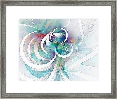 Tendrils 03 Framed Print by Amanda Moore
