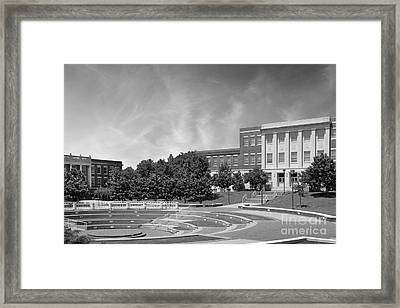 Tennessee State University Averitte Amphitheater Framed Print by University Icons