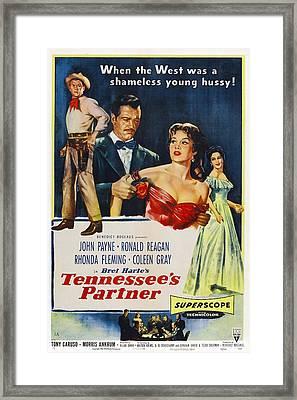 Tennessees Partner, Us Poster Framed Print by Everett