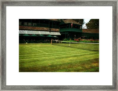 Tennis Hall Of Fame 2.0 Framed Print by Michelle Calkins