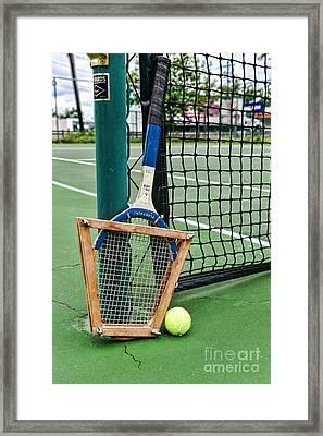 Tennis - Tennis Anyone Framed Print by Paul Ward