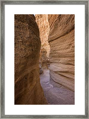 Tent Rocks Canyon National Monument 3 - Santa Fe New Mexico Framed Print by Brian Harig