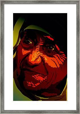 Teresa Framed Print by Matt Lindley