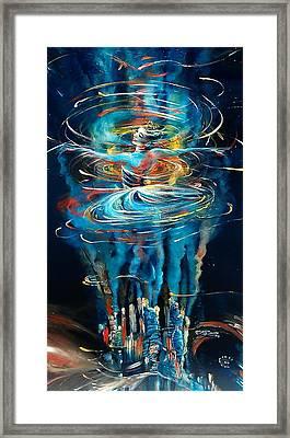Terra Nova Framed Print by Ottilia Zakany