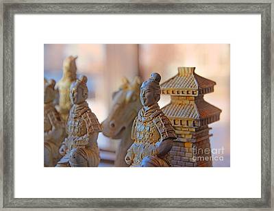 Terracotta Army Framed Print by Al Bourassa