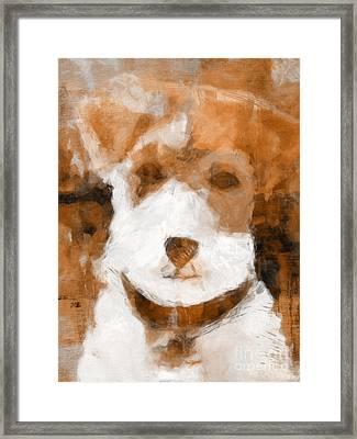 Terrier II Framed Print by Lutz Baar