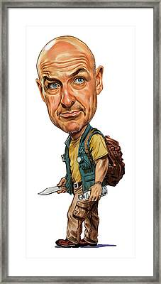 Terry O'quinn As John Locke Framed Print by Art