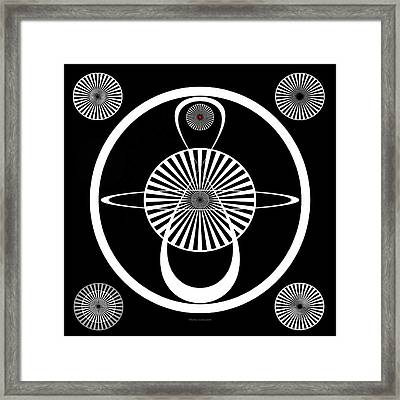 Test Pattern Framed Print by Thomas Woolworth