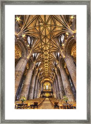 Tewkesbury Abbey Framed Print by Darren Wilkes