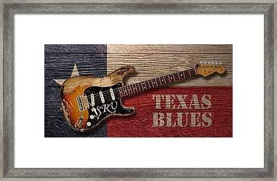 Texas Blues Framed Print by WB Johnston