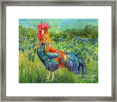 Texas Glory Framed Print by Hailey E Herrera