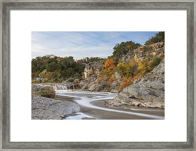 Texas Hill Country Colors 1 Framed Print by Rob Greebon