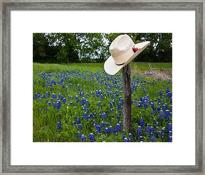 Texas Framed Print by Mark Alder