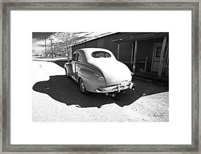 Texas Roadside Framed Print by Cheri Randolph