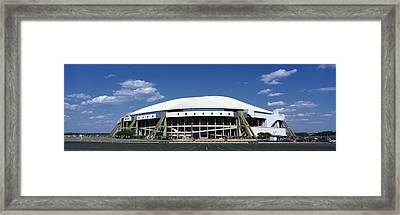 Texas Stadium Framed Print by Panoramic Images