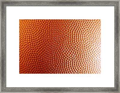 Texture Framed Print by Les Cunliffe