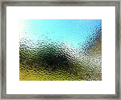 Textured Surface Framed Print by Les Cunliffe