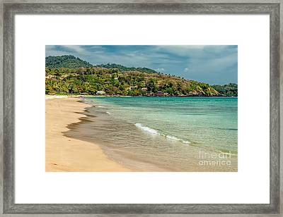 Thai Beach Framed Print by Adrian Evans