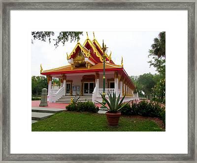 Thai Buddhist Temple IIi Framed Print by Buzz  Coe