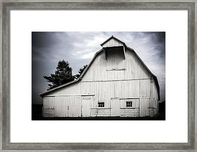 Thank God I'm A Country Barn Framed Print by Purple Moon