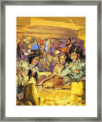 Thanksgiving Framed Print by Angus McBride