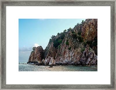 Thar Be Rock Framed Print by Michael Glenn