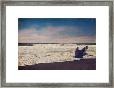 That Dirty Game Recaptures Me Framed Print by Laurie Search