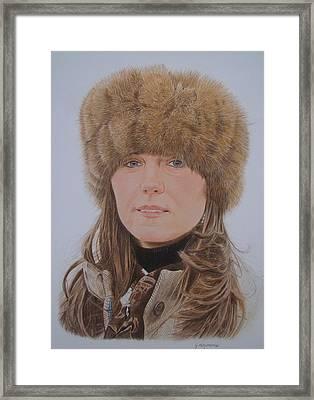 That Hat Framed Print by Gary Fernandez