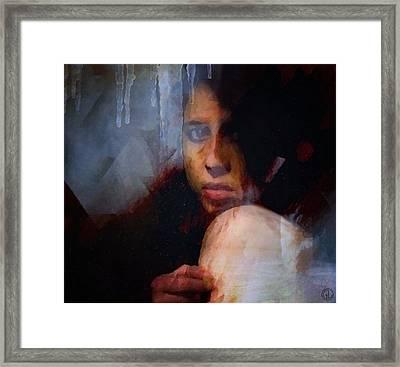 That Icy Feeling Framed Print by Gun Legler
