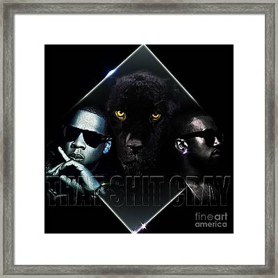 That Ish Cray Framed Print by The DigArtisT