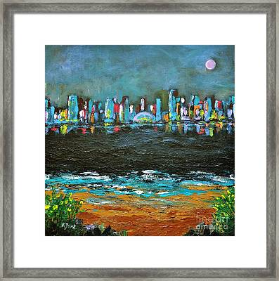 That Other Place Framed Print by Reb Frost