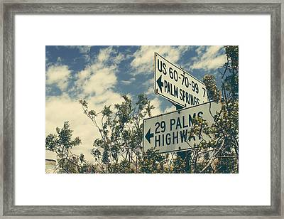 Thattaway Framed Print by Laurie Search