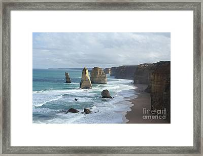 The 12 Apostles Framed Print by Josephine Caruana