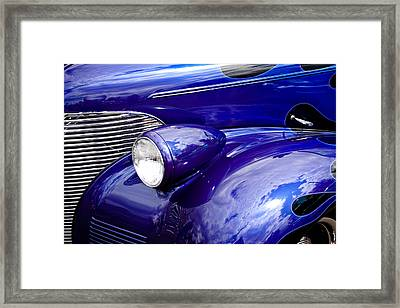 The 1939 Chevy Coupe Framed Print by David Patterson