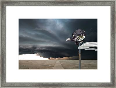 The 2nd Marker Framed Print by Craig Carl