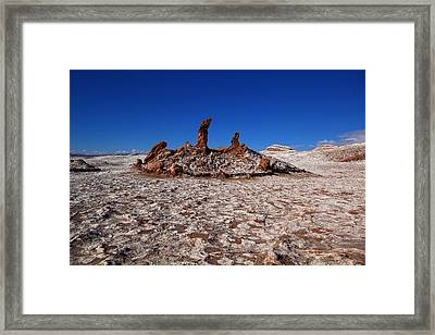 The 3 Marys Framed Print by FireFlux Studios
