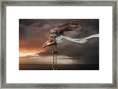 The 3rd Marker Framed Print by Craig Carl