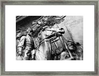 The 54th Framed Print by Scott Pellegrin