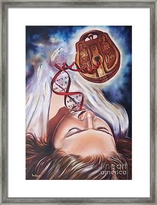 The 7 Spirits - The Spirit Of Wisdom Framed Print by Ilse Kleyn